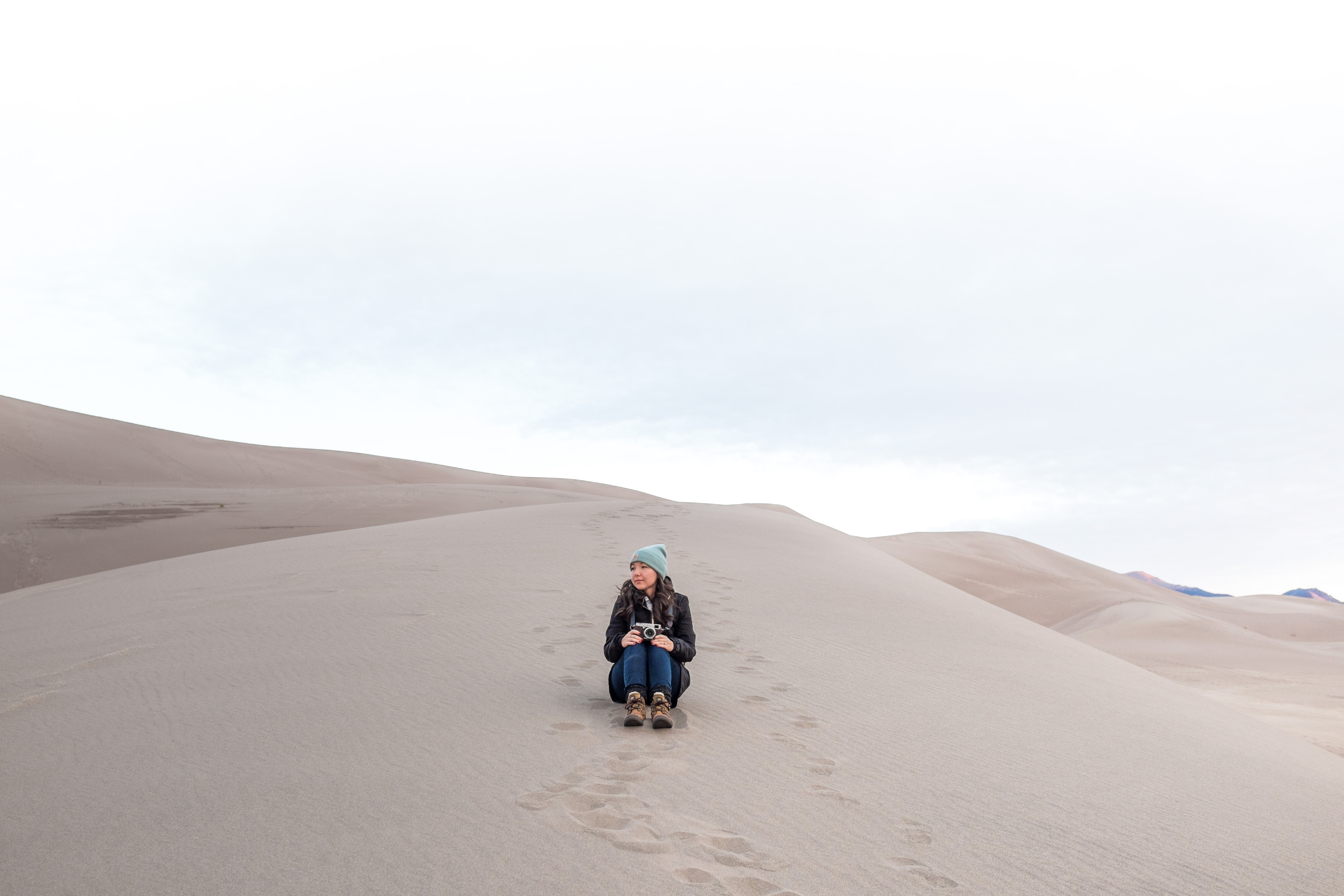Where My Eyes Go | Windsor Ontario Travel Photographer | Great Sand Dunes National Park