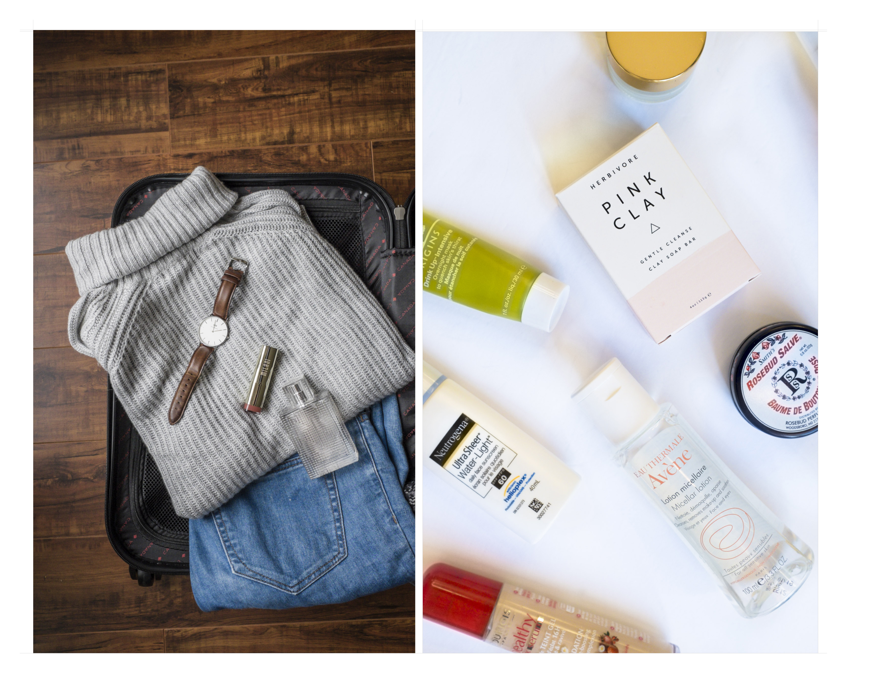 Where my Eyes go blog | Windsor Lifestyle | Packing for a trip |
