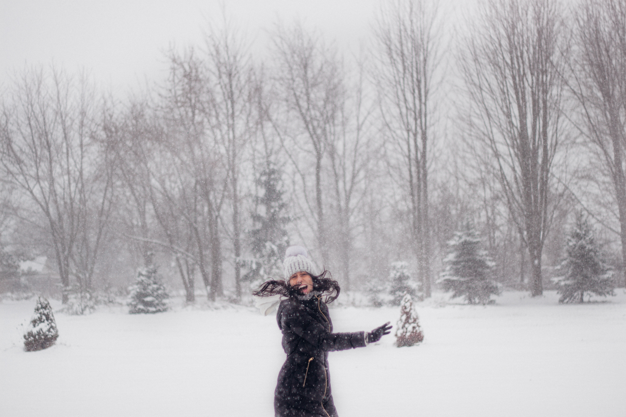Where My Eyes Go | Snow day in Windsor Ontario