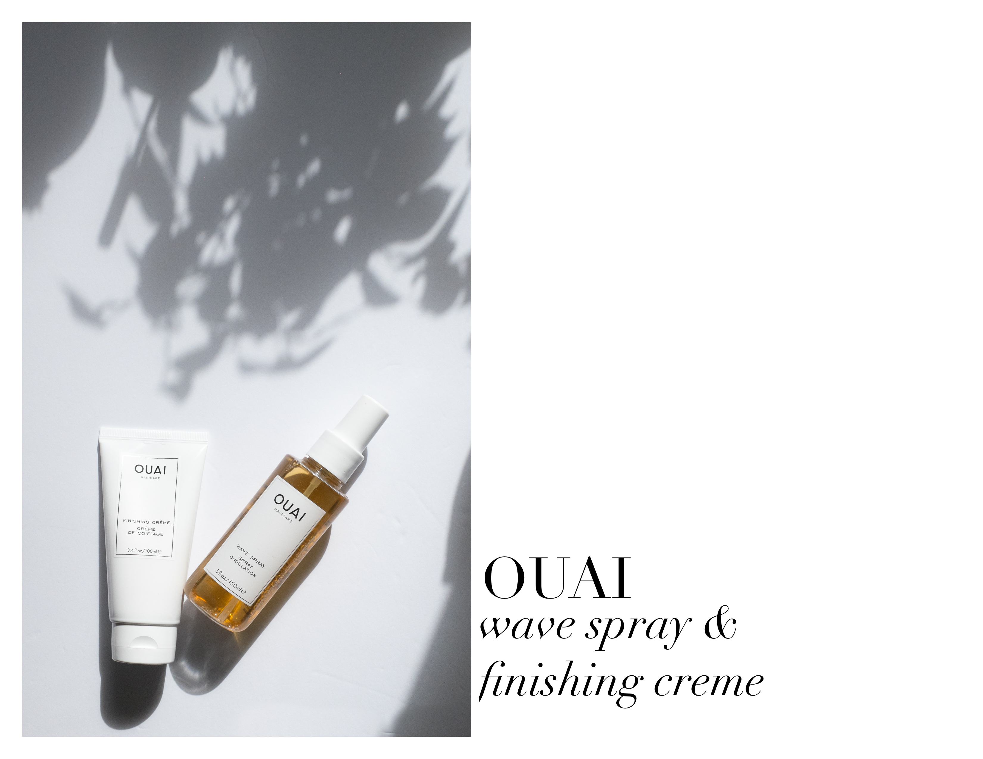 Where My Eyes Go | Lifestyle Photography | OUAI Wave Spray | OUAI Finishing Creme